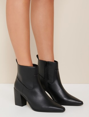 Forever New Amari Western Boots - Black - 37