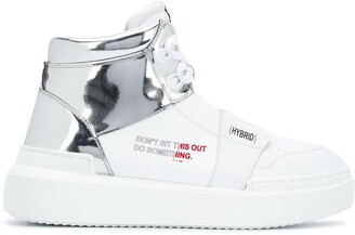 F_WD Hybrid high-top sneakers