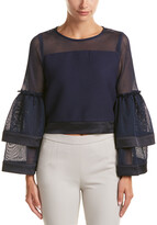 Thumbnail for your product : Gracia Mesh Top