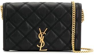 Saint Laurent Becky wallet on chain