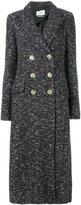 Etoile Isabel Marant Étoile Overton long coat - women - Cotton/Polyamide/Polyester/other fibers - 36
