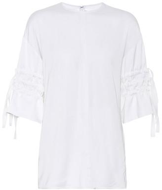 Victoria Victoria Beckham CrApe shirt