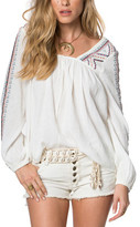 O'Neill Women's Sidra Long Sleeve Blouse