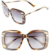 Derek Lam Women's Anita 55Mm Square Sunglasses - Amber