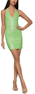 BCBGMAXAZRIA Gemma Mini Bodycon Dress