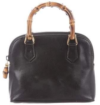 231ce2c1a732 Gucci Bamboo Handle Handbag - ShopStyle