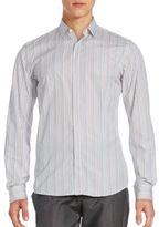 Salvatore Ferragamo Multi-Striped Cotton Shirt
