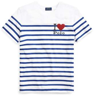 Ralph Lauren Polo Striped Graphic T-Shirt