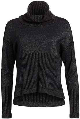 Derek Lam 10 Crosby Merino Wool & Cashmere Sparkle Sweater