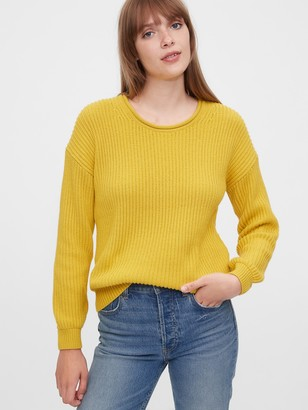 Gap Relaxed Rollneck Shaker Sweater