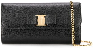 Salvatore Ferragamo mini Vara Bow clutch