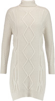 Derek Lam 10 Crosby Cable-knit wool turtleneck tunic