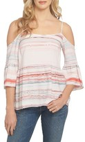 1 STATE Women's 1.state Bell Sleeve Off The Shoulder Top