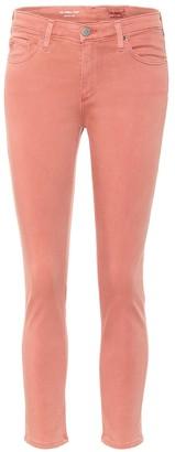 AG Jeans Prima crop mid-rise cigarette pants