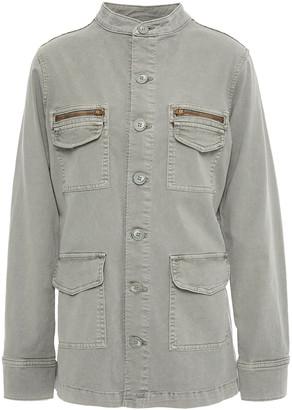 L'Agence Elizabeth Cotton-blend Twill Jacket