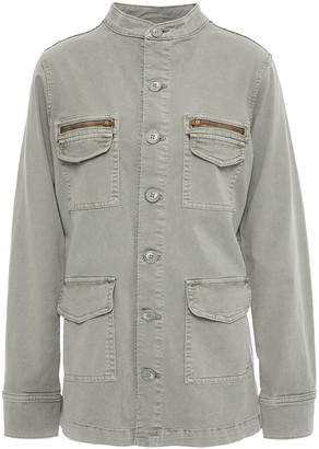 L'Agence Elizabeth Stretch-cotton Twill Jacket