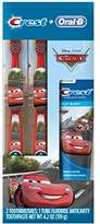 Oral-B and Crest Kids Holiday Pack FeaturingKids Fluoride Anticavity Toothpaste and Two Toothbrushes