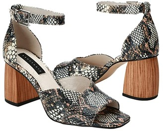 Sanctuary Roll (Natural Multi Snake Pr Leather) Women's Shoes