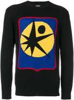 Diesel abstract print jumper - men - Cotton/Acrylic - S