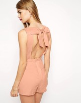 Asos Romper with Bow Back