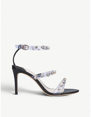 Sophia Webster Rosalind leather and vinyl sandals 85