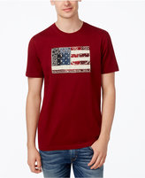 American Rag Men's Paisley Patch Flag T-Shirt, Created for Macy's