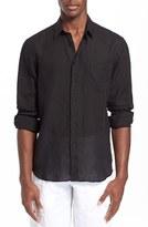 Vilebrequin Men's 'Caroubier' Linen Shirt