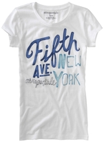 Aeropostale NYC 5th Ave Graphic T