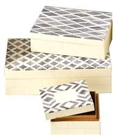 Twos Company Slate Boxes (Set of 3)