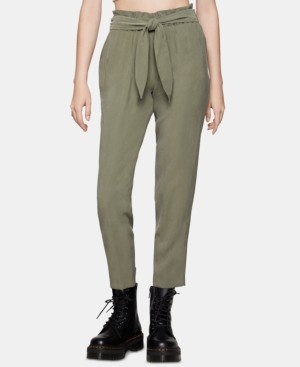 BCBGeneration Tie-Waist Pants