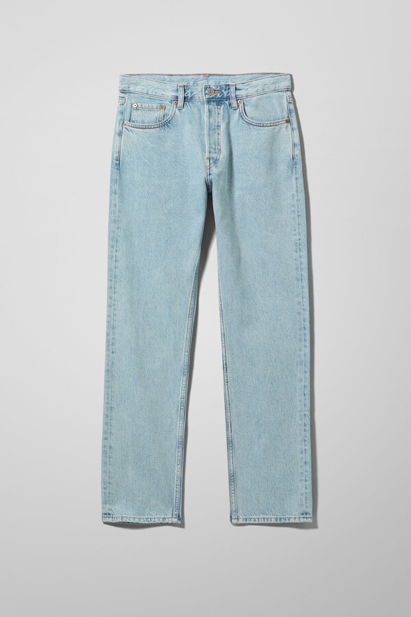 Thumbnail for your product : Weekday Wire High Straight Jeans - Blue