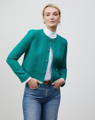 Lafayette 148 New York Petite Nouveau Crepe Sami Jacket