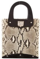 Barry Kieselstein-Cord Python & Leather Tote
