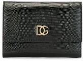 Dolce & Gabbana embossed snakeskin-effect wallet