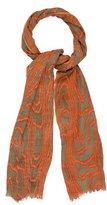 Kelly Wearstler Wool & Silk Printed Scarf
