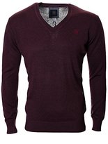 G Star Men's Berlow V-Neck Knit Shirt