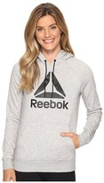 Reebok Workout Ready Big Stacked Logo Over The Head