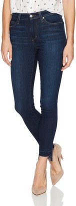 Joe's Jeans Women's Charlie High Rise Skinny Ankle with Step Up Hem Jean