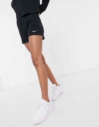 Nike Premium Ribbed black Booty Shorts