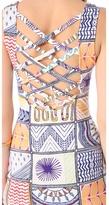 Mara Hoffman Quilts Mini Cover Up Dress