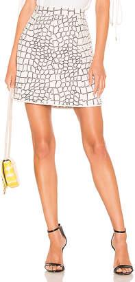 See by Chloe Animal Print Skirt