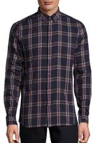 The Kooples Plaid Patterned Cotton Shirt