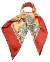 Hermes Breitling Silk Scarf