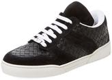 Bottega Veneta Leather and Suede Sneakers