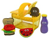 Melissa & Doug Deluxe Picnic Basket Fill and Spill Soft Baby Toy