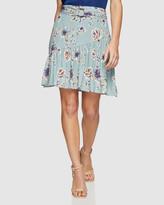 Oxford Kat Floral Printed Skirt