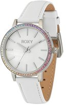 Roxy Women's RX/1009MPSV THE BELLS Multi-Color Swarovski Crystal-Accented Leather Strap Watch