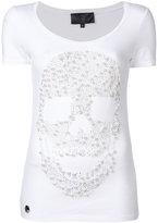 Philipp Plein pearl skull T-shirt