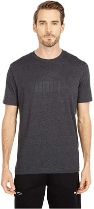 Puma Essential Heather Tee (Digi Blue) Men's Clothing