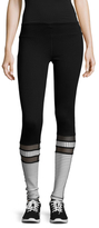 Electric Yoga Stripe Mesh Leggings